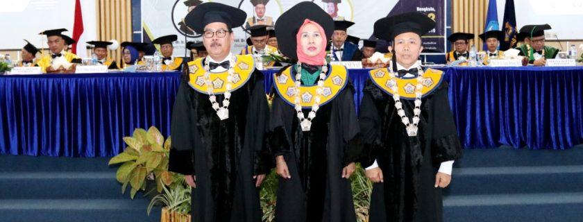 Riwayat Singkat 3 Guru Besar UNIB yang Baru Dikukuhkan