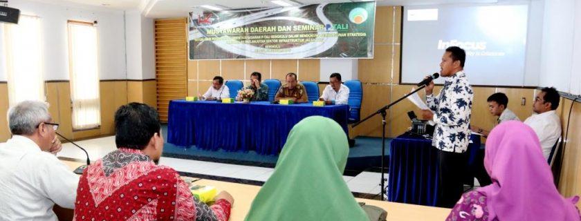 Perkumpulan Tenaga Ahli Lingkungan Gelar Musda dan Seminar di UNIB