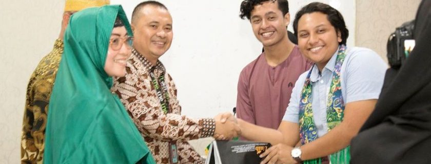 Dua Mahasiswa Universiti Utara Malaysia Belajar Bersama ke FISIP UNIB