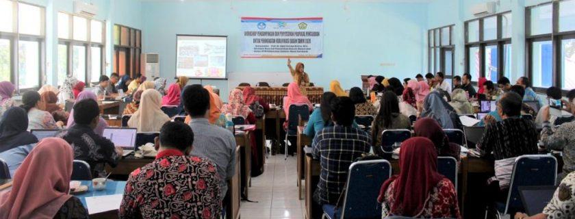 Workshop Pendampingan dan Penyusunan Proposal Pengabdian 2020