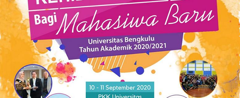 Pengenalan Kehidupan Kampus Mahasiswa Baru Universitas Bengkulu Tahun Akademik 2020/2021