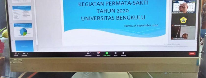 Rektor Sambut 121 Mahasiswa Program Permata-Sakti 2020