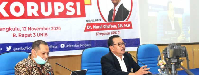 "Pimpinan KPK Kuliah Umum ""Kampus Melawan Korupsi"""
