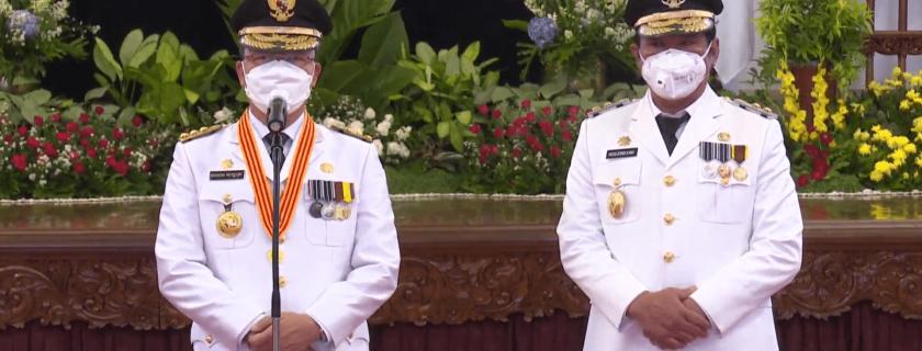 Selamat dan Sukses atas Pelantikan Gubernur dan Wakil Gubernur Bengkulu Periode 2021-2024
