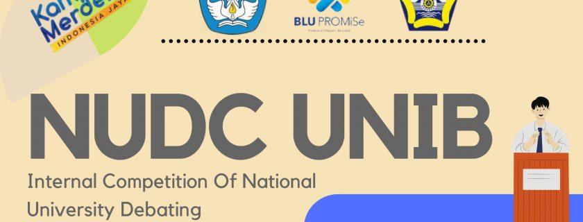 NUDC UNIB 2021 (National University Debate Competition of University of Bengkulu)