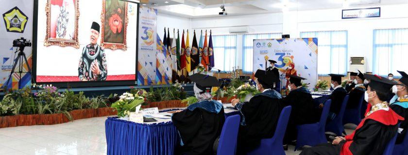 Gubernur Rohidin Mersyah :  UNIB Berkontribusi Bagi Kemajuan Daerah