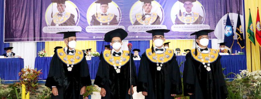 UNIB Tambah 4 Guru Besar Bidang Pendidikan dan Pertanian