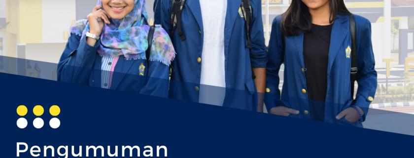 Pengumuman Pembagian Almamater dan Buku Panduan Akademik Tahun Ajaran 2021/2022